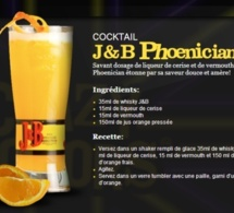 Cocktail J&B Phoenician