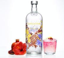 Vodka Absolut Hibiskus, la nouveauté florale du début d'année