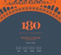Le 180 Only, le bar éphémère de l'Hôtel Pullman à Paris