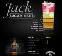 Recette Cocktail Jack Sugar Beet par Jack Daniel's