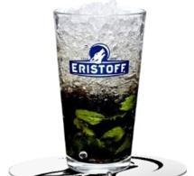 Recette Cocktail Black Mint par Eristoff