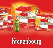 Nouveau design pour les bouteilles Kronenbourg