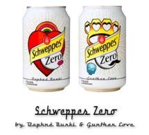 Edition limitée Schweppes Zéro by Daphné Bürki et Gunther Love