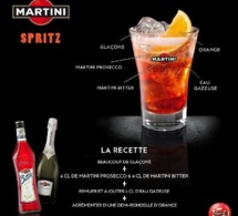 Recette Cocktail Martini Spritz