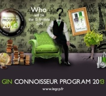 Mathieu Le Feuvrier en lice pour la finale internationale du Gin Connoisseur Program 2013