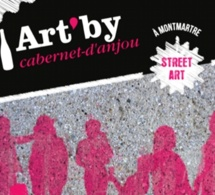 Art'By Cabernet D'anjou 2013 s'installe aux Abbesses à Paris