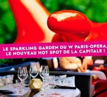 Le « Sparkling Garden » : la terrasse éphémère de l'hôtel W Paris-Opéra