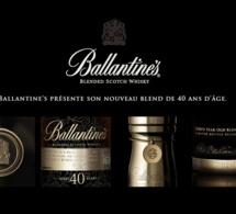 Ballantine's présente son nouveau Blend de 40 ans d'âge