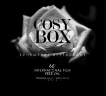 Cosy Box 2013 : le restaurant éphémère de retour à Cannes