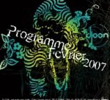 Djoon Paris - Programme février 2007