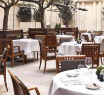 La Terrasse et Le Bar du Park Hyatt Paris-Vendôme en mode été
