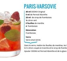 Recette Cocktail Paris-Varsovie by ODDKA