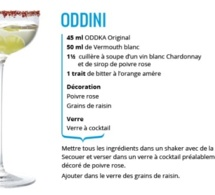Recette Cocktail Oddini by ODDKA