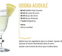 Recette Cocktail ODDKA Acidulé