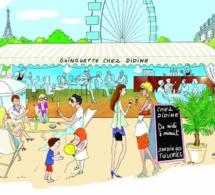 Chez Didine : la Guinguette éphémère des Tuileries à Paris