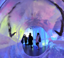 Minus 5 : le premier ice bar de New York