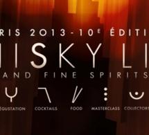 Le Whisky Live Paris 2013 dévoile la liste de ses exposants