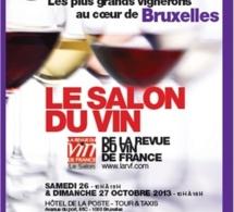 Salon du Vin de La Revue du vin de France 2013 à Bruxelles