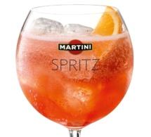 Cocktail Martini Spritz remis au goût du jour