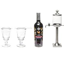 Pernod Absinthe dévoile son nouveau flacon édition limité by Kitsuné