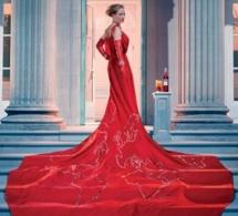 Campari présente son calendrier 2014 avec Uma Thurman