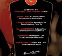 Bacardi Legacy France 2014 : Et les 5 finalistes sont ...