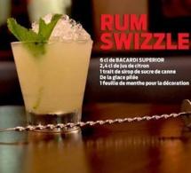 """Recette Cocktail """"Rum Swizzle"""" par Bacardi"""