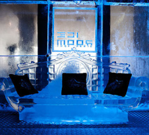 L'Ice Bar de l'Ice Room à Bordeaux