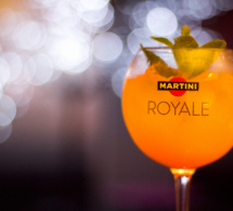 Cocktail Martini Royale Exotique by Antony Bertin