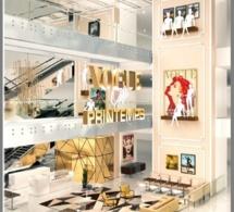 Ouverture du Café Vogue au Printemps Haussmann à Paris