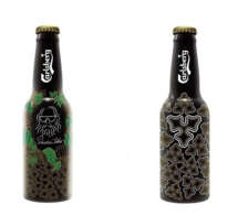 Nouvelle Night Bottle Carlsberg en collaboration avec Sébastien Tellier