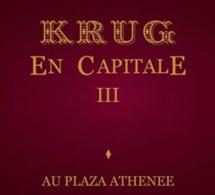 Krug en Capitale III au Plaza Athénée à Paris