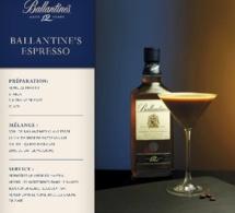 Recette Cocktail Ballantine's Espresso