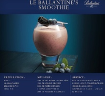 Recette Cocktail Ballantine's Smoothie