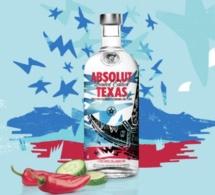 Absolut présente sa nouvelle édition limitée : Absolut Texas