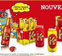 Kronenbourg lance K : une  gamme de bières aromatisées aux fruits