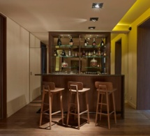 Le bar de l'hôtel de Nell, à Paris