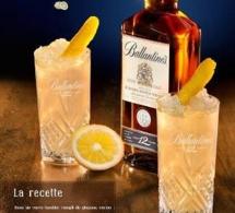 Recette cocktail Ballantine's Collins
