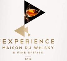 L'Expérience Maison du Whisky & Fine Spirits : programme des Master Classes