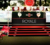 Martini Royale sur la route des festivals