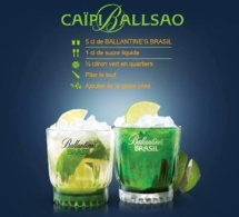 Recette Cocktail CaïpiBallsao by Ballantine's Brasil