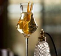 """Cocktail """"Elixir n°2"""" au bar du Park Hyatt Paris-Vendôme"""