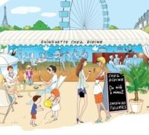 La Guinguette éphémère chez Didine de retour aux Tuileries