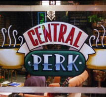 Un bar éphémère Central Perk à New York