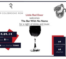 Le Little Red Door accueille The Bar with No Name