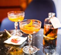 Cocktails d'hiver au bar du Prince de Galles
