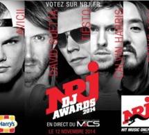 NRJ DJ Awards 2014 : les artistes présents à la cérémonie
