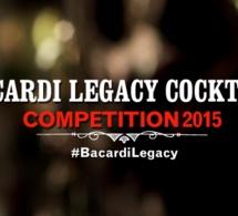 Bacardi Legacy France 2015 : les cocktails des 5 finalistes