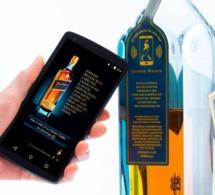 Johnnie Walker propose la première bouteille de whisky connectée