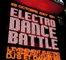 Infosbar, partenaire de Electro Dance Battle à l'Olympia le 28 octobre